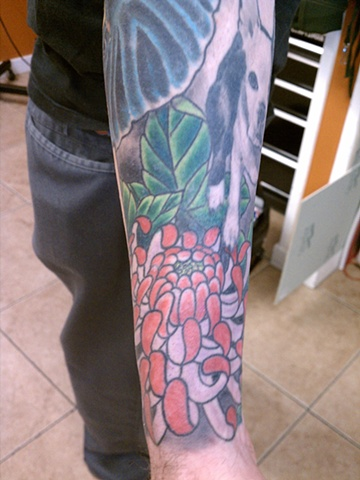 elephant tattoo, mason hogue