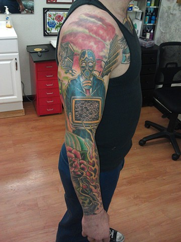 Armageddon Tattoo by Mason Hogue