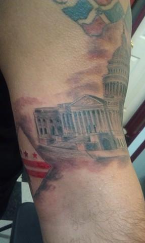 Capitol Tattoo by Mason Hogue