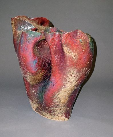 Milt Friedly ceramic vessels