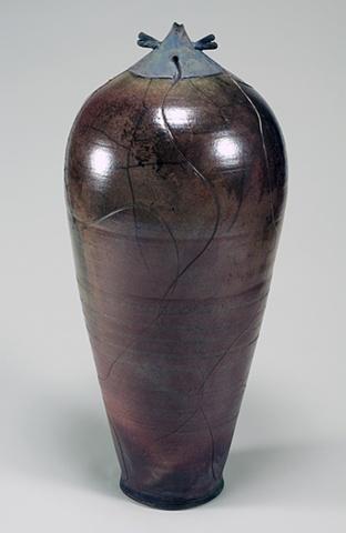 Raku Fired Pottery