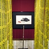 Caution - Homage to Duchamp and Libhart Installed in the Hess Gallery