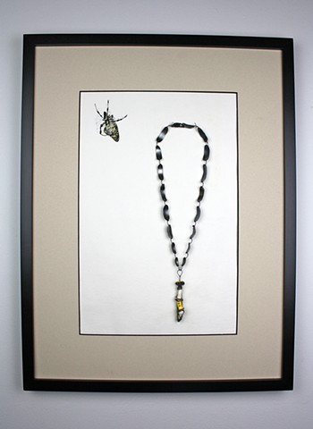 Banana Spider, Necklace