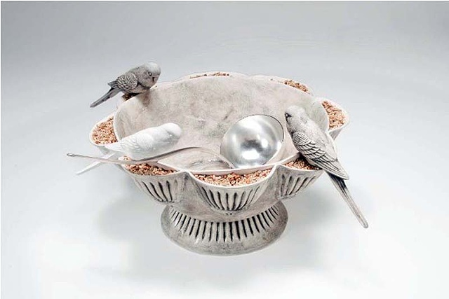 For the Birds Lisa Johnson- Punch Bowl Randy Long- Ladle