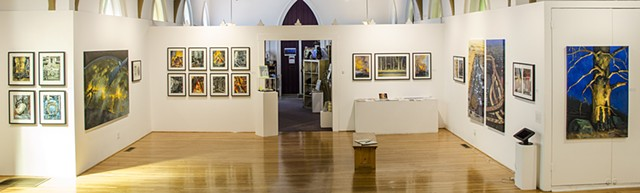 Exhibition at The Arts Center, Corvallis, Oregon. Photo by Rich Bergeman.