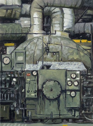 4 Studies of the Coal Fired Power Plant at Boardman, OR (detail 2 of 4)