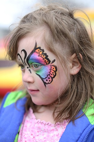 Sue Mauldin, Face Painter, Louisville, Kentucky
