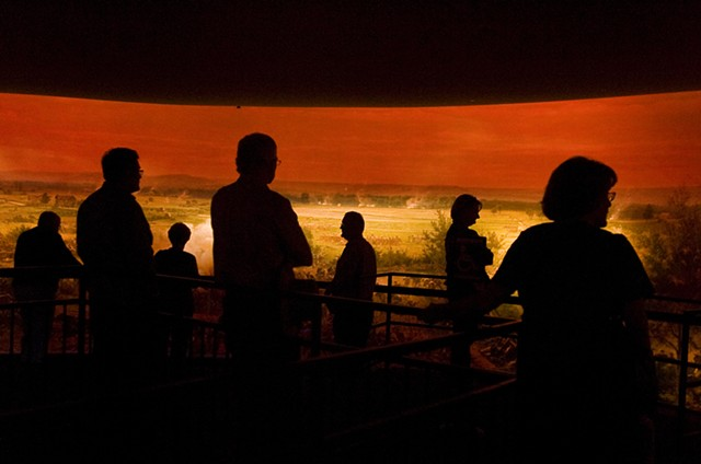 Gettysburg Cyclorama, Museum and Visitors Center, 2012