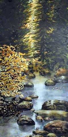 DETAIL of Aspen Stream #3