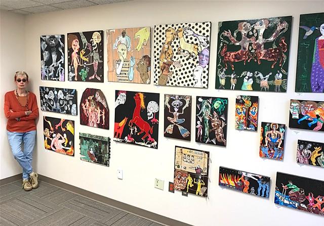 "jenniferbeinhacker.com ""self taught"" artomatic ""artomatic 2017"" ""art show"" ""art gallery"" ""acrylic paintings"" ""outsider art"" ""visionary art"" ""raw art"" ""art brut"" ""deviant art"" ""primitive art"" ""folk art"" assemblage collage ""art naif"" ""naive art"" ""folk art"""