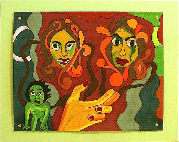 "jenniferbeinhacker.com ""self taught"" pastels ""water soluble pastels"" ""visionary art"" ""outsider art"" "" ""raw art"" ""art brut"" ""naïf art"" ""primitive art"" ""deviant art"" ""modern art"" ""contemporary art"" ""art on cardboard"" men women children fish hands faces chil"