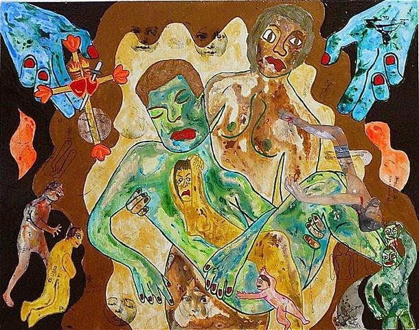 "jenniferbeinhacker.com ""self taught"" ""acrylic painting """"acrylic paint"" ""folk art"" ""mixed media"" assemblage collage ""water color paint"" women men children faces hands dolls surrealism expressionism ""visionary art"" ""primitive art"" ""deviant art"" ""folk art"""