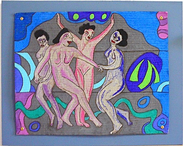 "jenniferbeinhacker.com ""self taught"" pastels ""water soluble pastels"" ""visionary art"" ""outsider art"" "" ""raw art"" ""art brut"" ""naïf art"" ""primitive art"" ""deviant art"" ""modern art"" ""contemporary art"" ""art on cardboard"" men women children fish hands faces chi"
