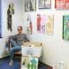 jennifer showing at artomatic 2007 arlington va
