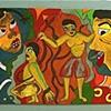 pastel 18: africa series 7: tragedy