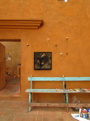 Purification Painting 4 on view at the Arquetopia Foundation, Oaxaca, Mexico