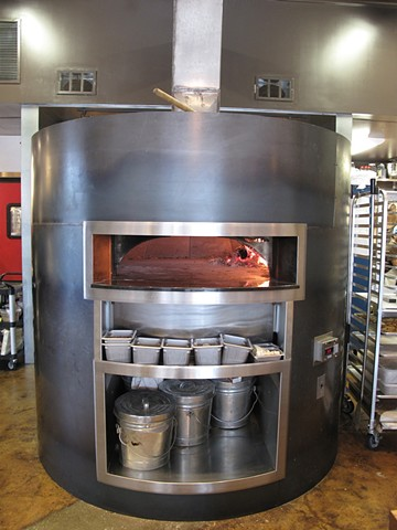 Leo Gaev Metalworks Inc Wood Fired Oven At Pizzeria