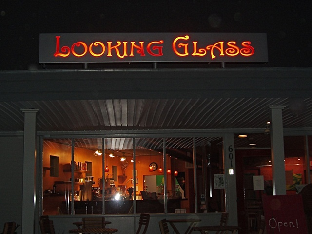 Looking Glass Sign