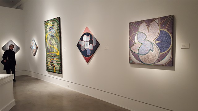 Houston Artists: Gestural and Geometric Abstraction. Mobile Art Museum.