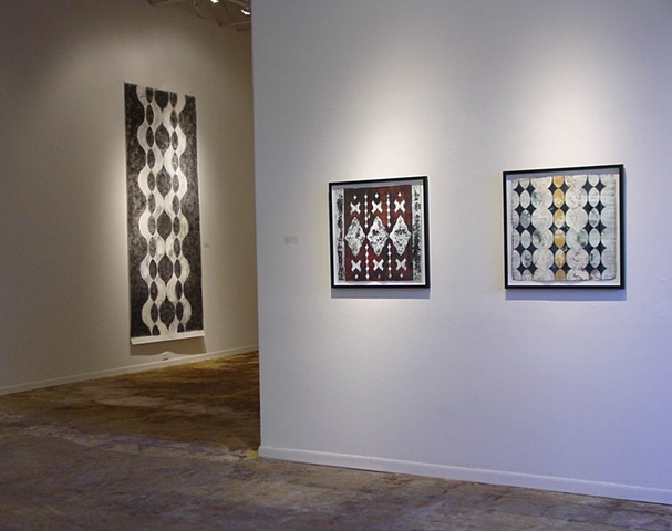 """Morphic Resonance"" Solo Exhibition, June 2001 New Gallery,  Houston, Texas"