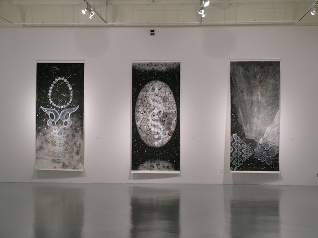 """Black White (&Gray)"",   The Gallery at the University of Texas    at Arlington, Texas."