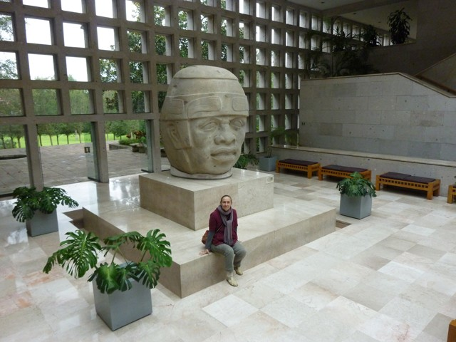 The Lobby. Museum of Anthropology in Xalapa, Veracruz, Mexico.