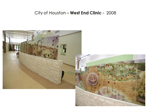 Good Neighbor Healthcare Center. Houston, Texas.  Partition Wall - 2008.