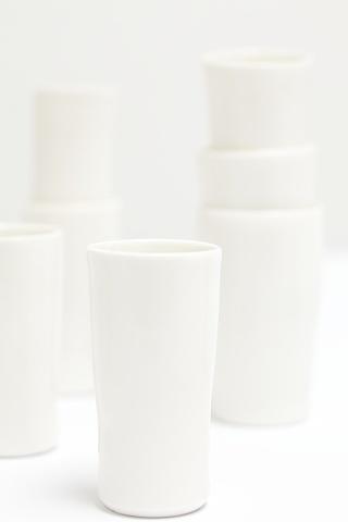 Porcelain Tumblers - detail