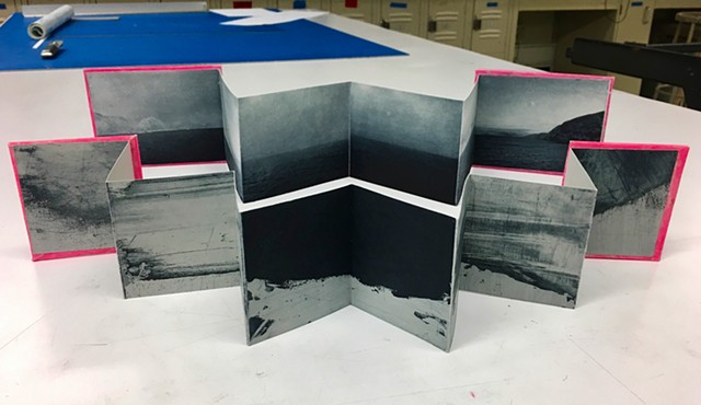 70° North accordion books