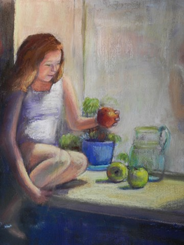 Ainsley portrait/still life