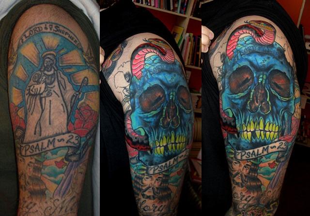 Jesus Skull Cover-Up