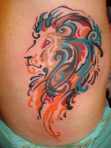 lion claw scratch tattoo. Black Bedroom Furniture Sets. Home Design Ideas