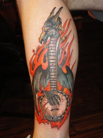 Banjo Dragon