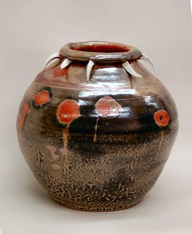 Wheel Thrown Stoneware Jar