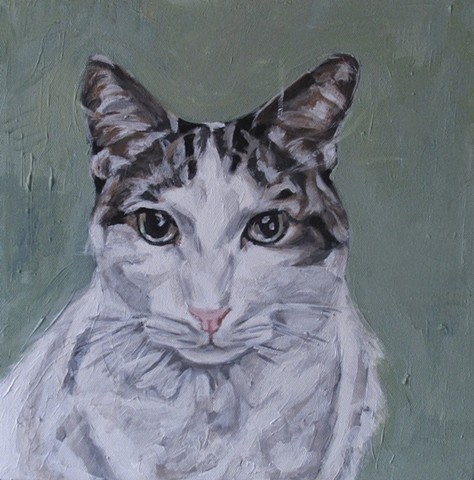 pet portrait by kira birney george