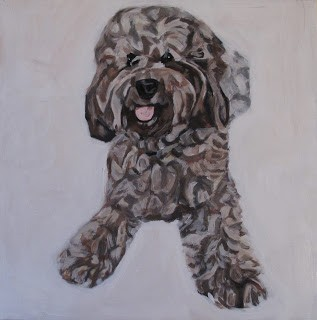 pet portrait by kira birney