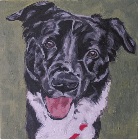 pet portrait by kira birney rufus