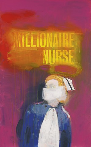 Richard Prince- Nurse Painting