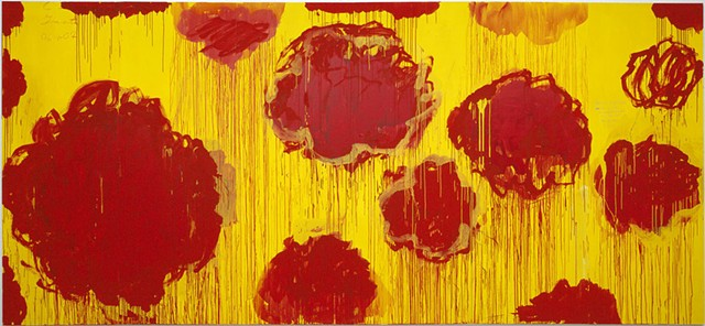 Cy Twombly- Rose Painting