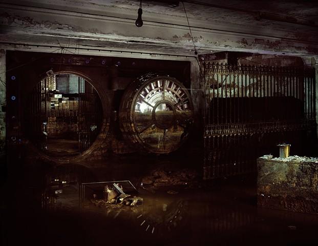 Stony Island Arts Bank Basement with Vault photo: Sara Pooley