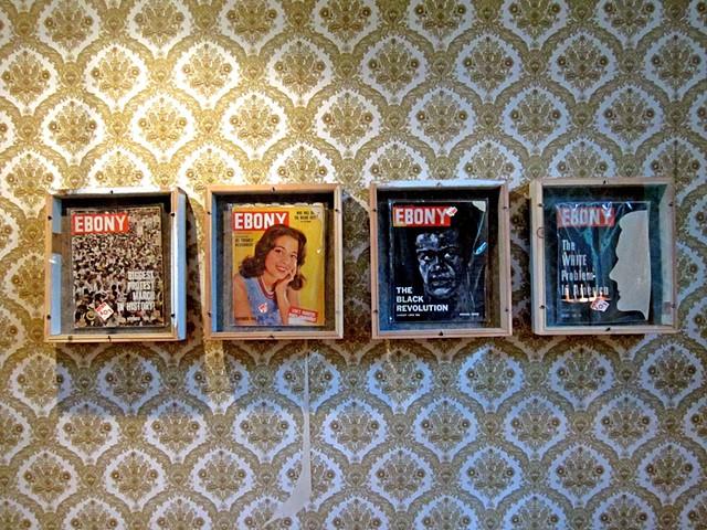 Ebony Magazine covers