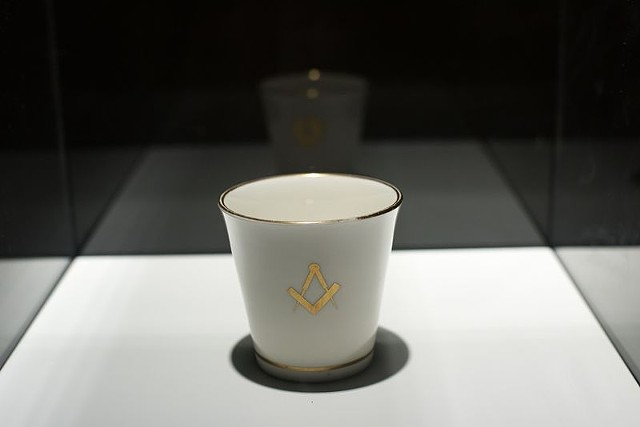 Masonic cup