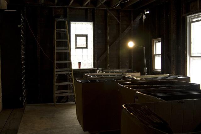 Glass Lantern Slides Arrive at 6916 Dorchester
