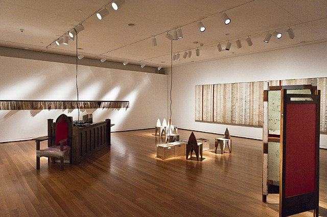 Installation View. Listening Room, Seattle  photo: Robert Wade