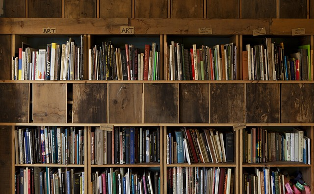 Archive House Library photo: Sara Pooley