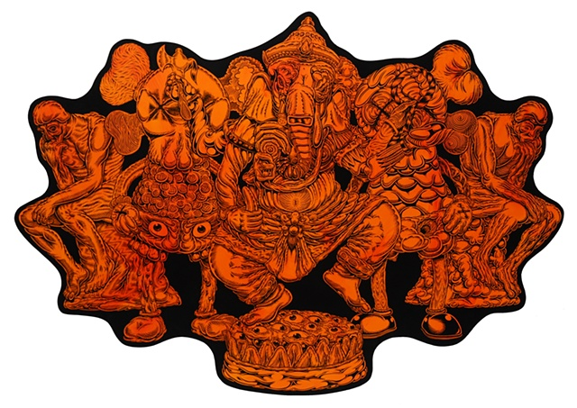 Untitled (Ganesh), 2008