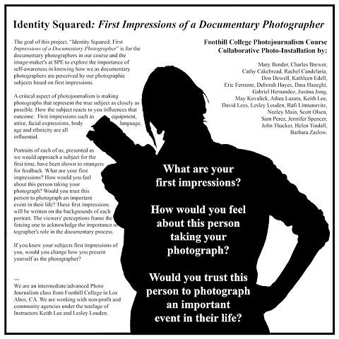 "*""Identity Squared: First Impressions of a Documentary Photographer""*"