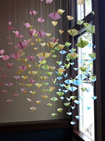 Transitions, site-specific installation
