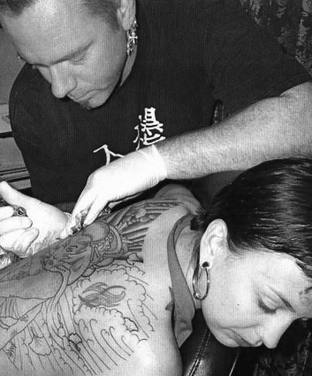 David Dettloff:  Tattoos and other artwork