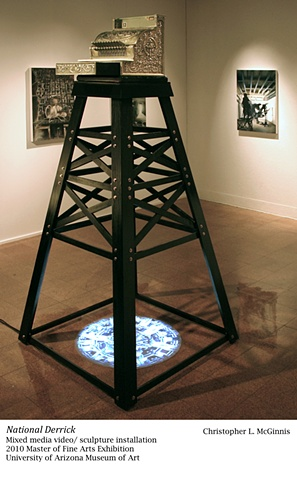 National Derrick (installation view)